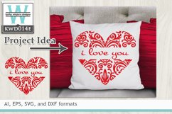 Valentines SVG - Heart Product Image 1
