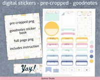 Digital planner piñata stickers Goodnotes and precropped png Product Image 3