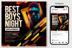 Dj Party Flyer Template Product Image 1