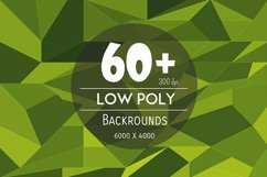 60+ Low Poly Backgrounds Product Image 1