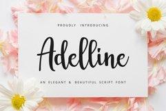 Adelline   beautiful elegant font Product Image 1