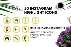 Instagram Story Highlight Icons Yellow Watercolor- Set of 50 Product Image 4