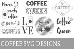 Coffee SVG designs Product Image 1