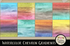 Watercolor Background Textures - Chevron Watercolor Papers Product Image 3