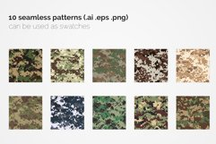 British Pixel Camouflage Patterns Product Image 2