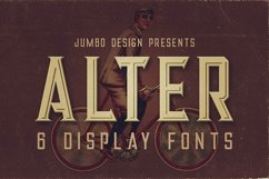 Alter - Vintage Style Font Product Image 1
