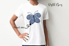Butterfly SVG / DXF / EPS / PNG files Product Image 6
