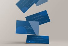 Classic Blue Business Card Product Image 2