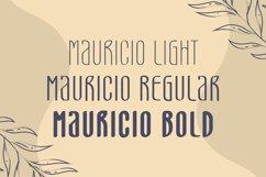 Mauricio - A Sans Font Family Product Image 4