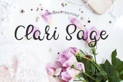 Clari Sage Font Product Image 1