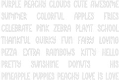 Lemonade Stand   Quirky Outline Font Product Image 3