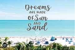 CHEERFUL DESIGNER Script Sans Hand Lettered Font Duo Product Image 6