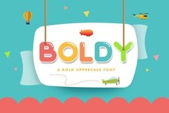 Web Font Boldy Product Image 1