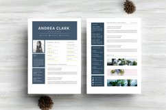 Chic Word Resume Template CV Product Image 4