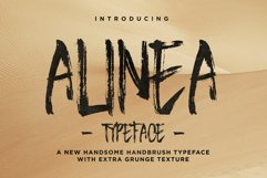 Alinea Typeface Product Image 1