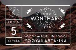 Montharo Typeface + Vector Product Image 3