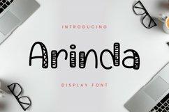 Arinda Font Product Image 1