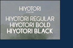 Hiyotori  3 Style Font Product Image 3