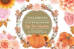Autumn Flower Clip Art Product Image 1