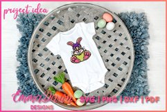 BELLA THE EASTER BUNNY SVG, MANDALA ZENTANGLE 2 DESIGNS Product Image 7
