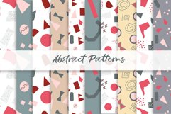 Abstract vector patterns. Big geometric collection, seamless Product Image 4
