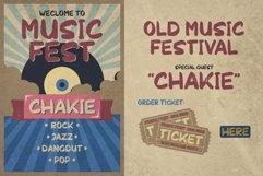 Chakie - Retro Brush Fonts Product Image 1