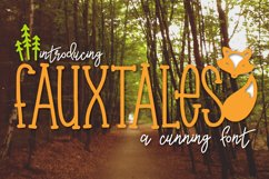 Fauxtales a Cunning Font Product Image 1