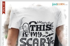 This is My Scary Receptionist Costume SVG Cut File Product Image 3