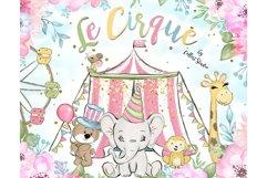 Circus clip art, Carneval illustrations, animal circus image Product Image 2
