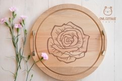 Rose SVG, rose PNG, Wedding flowers, Flowers SVG Product Image 5