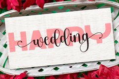 Cardy Abela Font Duo - Bold Sans and Tail Swash Script Product Image 6
