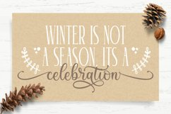 Winter Sounds   All Season Fonts Product Image 6