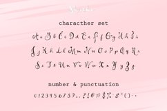 Short Lov - A Script Font Product Image 5