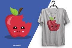 Apple Cool T-Shirt Design | Sublimation T-Shirt Product Image 2