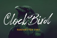 Clock Bird Product Image 1