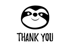 Sloth svg, png clipart. Animal svg, dxf file for cricut Product Image 2