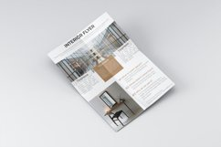 Building interior flyer dsign Product Image 1