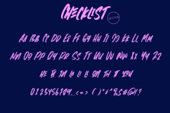 Web Font Checklist - Fancy SVG Font Product Image 4