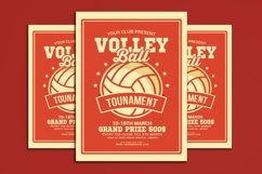 Volleyball Tournament Flyer Product Image 1