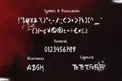 Wrong - Gothic Brush Font Product Image 4