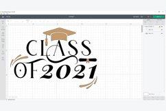Class of 2021 svg, Senior 2021 svg, Graduation svg Product Image 5