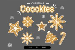 Christmas cookies clipart vol.1 Product Image 1