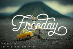 Freeday Script & Sans Font Product Image 1