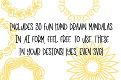 PRICKLY - A Hand Lettered Font With Mandala Extras Product Image 5