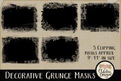 Decorative Grunge Photoshop Clipping Masks & Tutorial Product Image 3