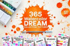365 Watercolor Dream Textures Product Image 1