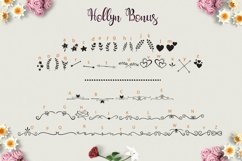 Hollyn Script with Ornaments Font Product Image 3