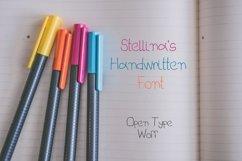 Stellina's Handwritten Font Product Image 4