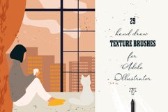 29 Hand draw vector texture brushes Product Image 1