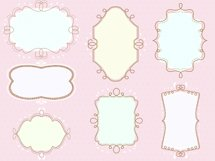 doodled frames pack  Product Image 5